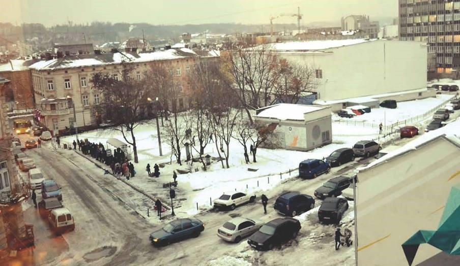 У Львові оновлять площу Святого Теодора