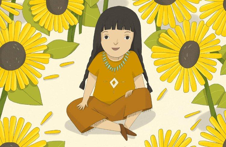 Ілюстрація до казки «Сонячна Квітка»