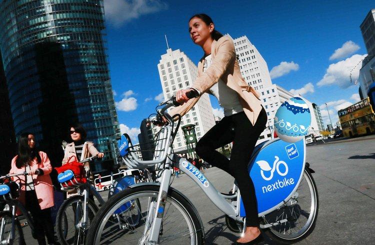 Велосипед NextBike