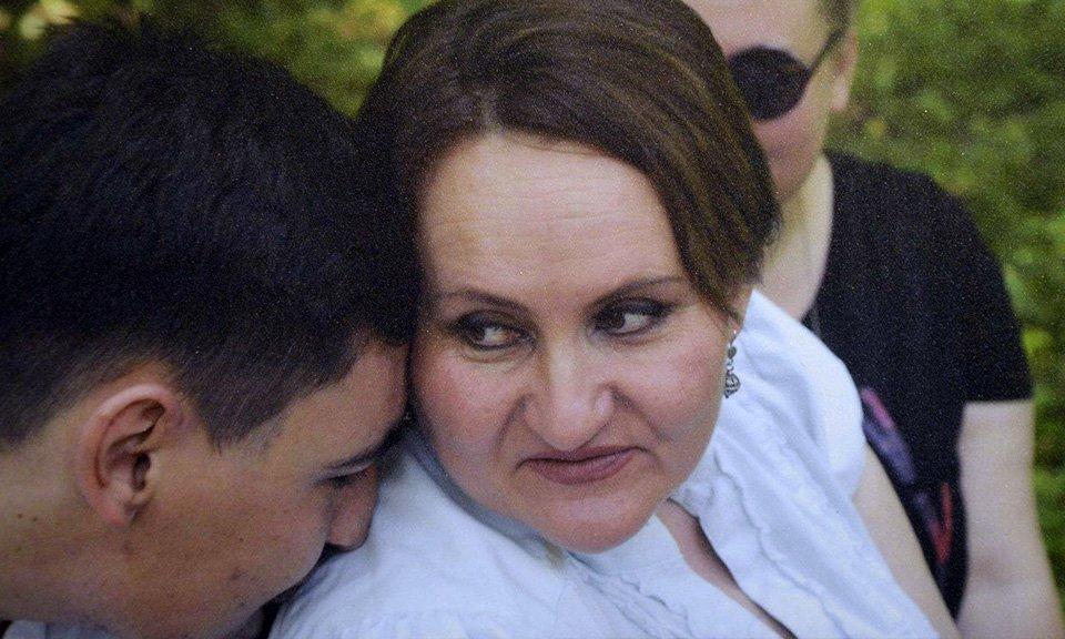 Анна Медко з сином