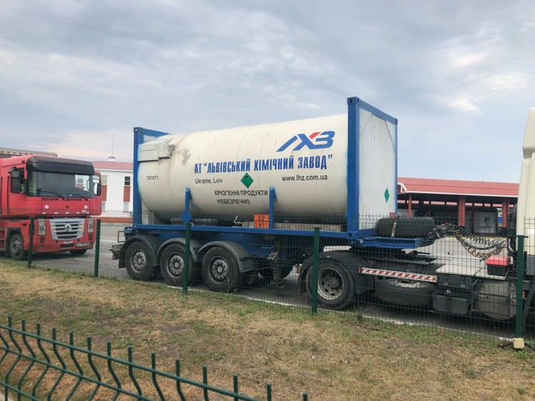 Вантажівка АТ «Львівський хімічний завод»