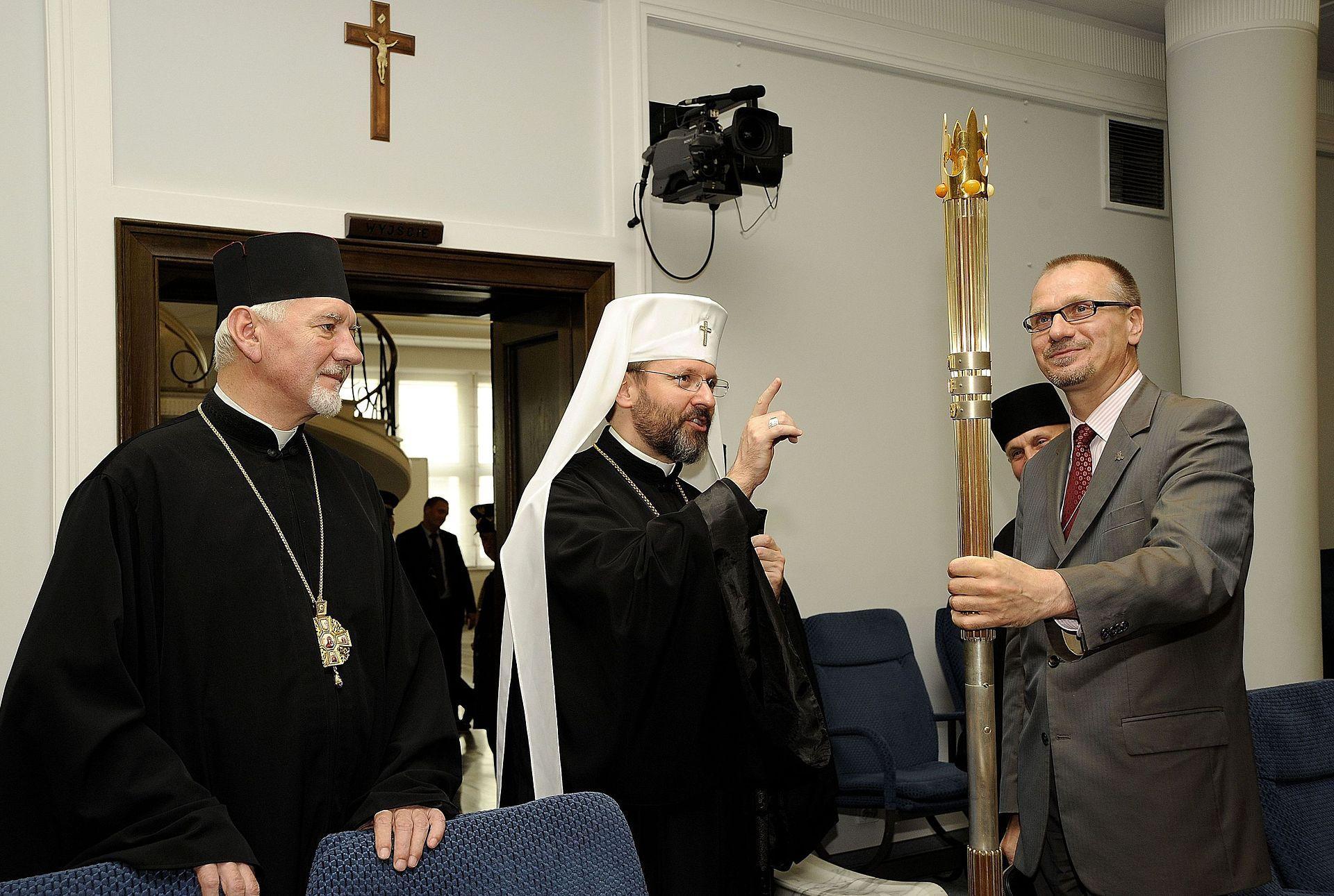 Блаженніший Святослав Шевчук у Польському Сенаті