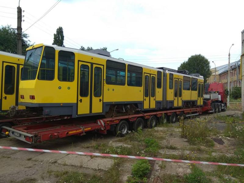 Трамваї з Німеччини