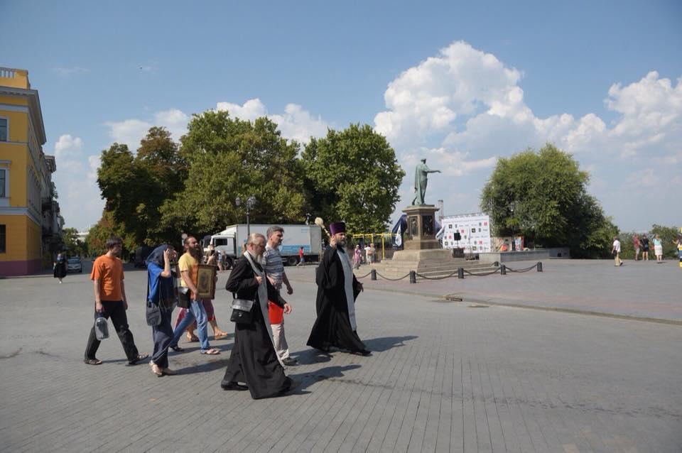 Освячення Приморського бульвару в Одесі