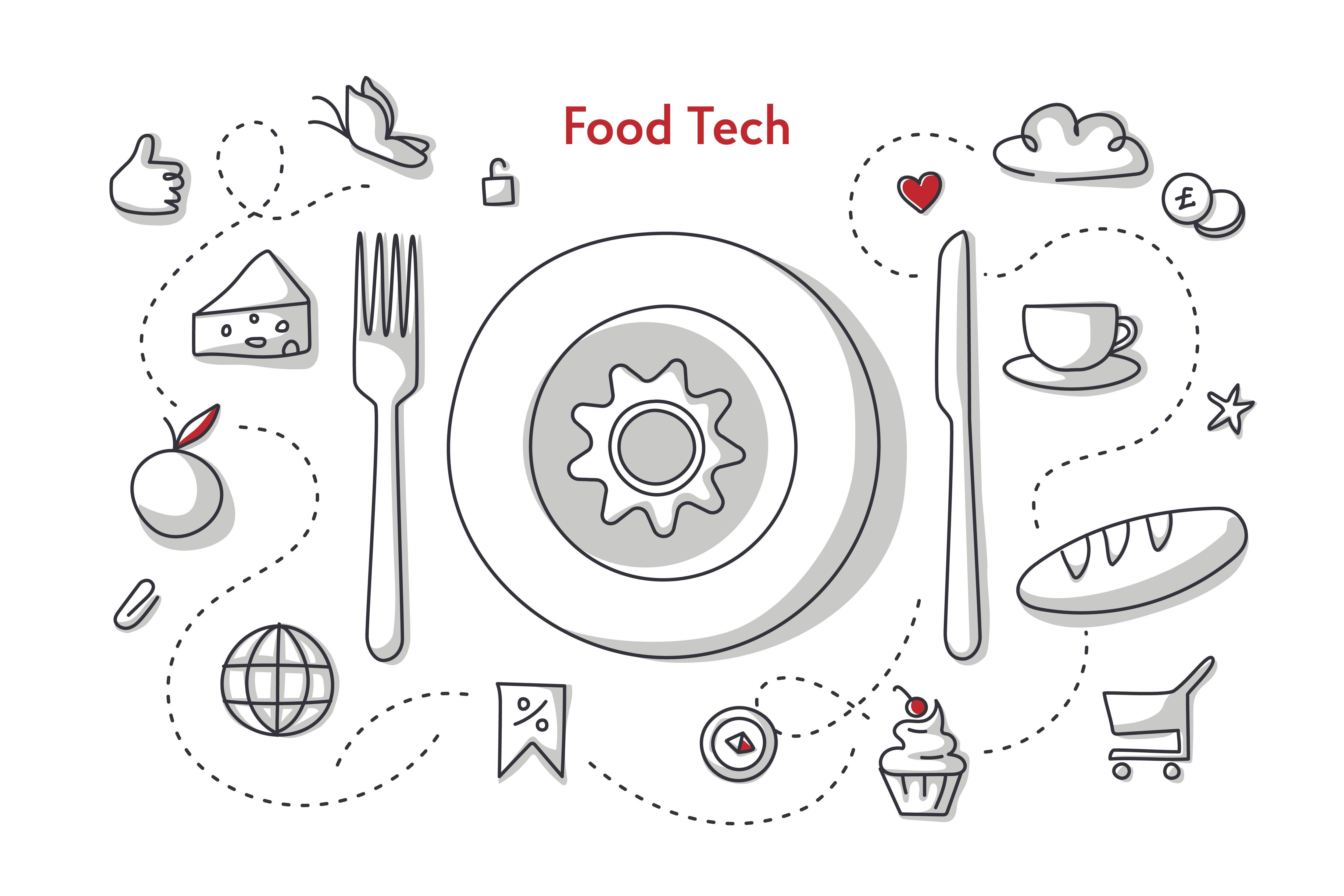 Промо для програми FoodTech