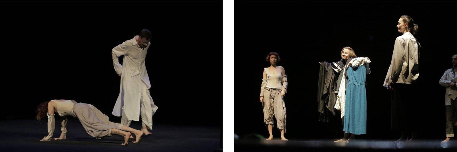 Танцювальний спектакль «Сорочки та черевики»