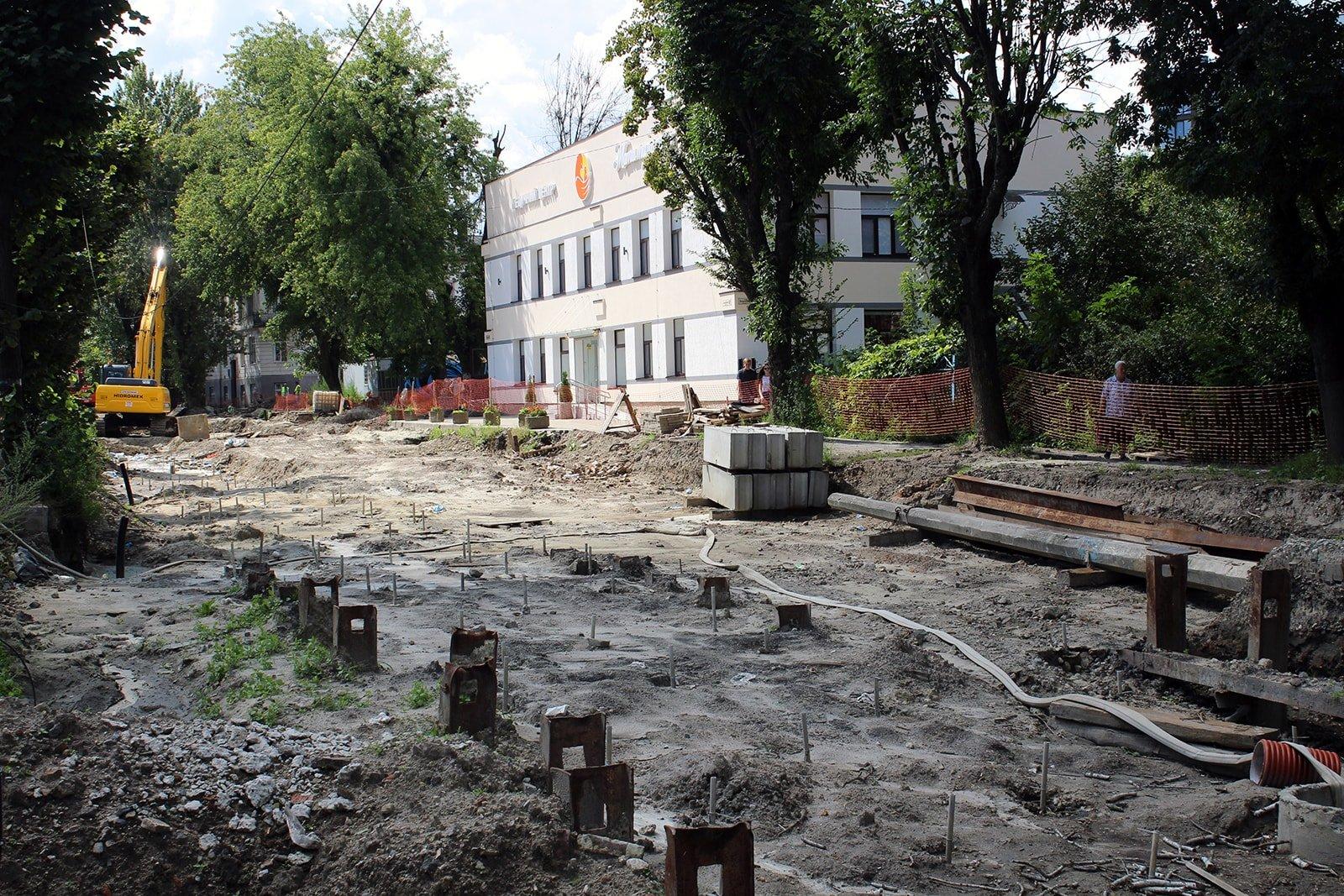 Ремонт вулиці Замарстинівської