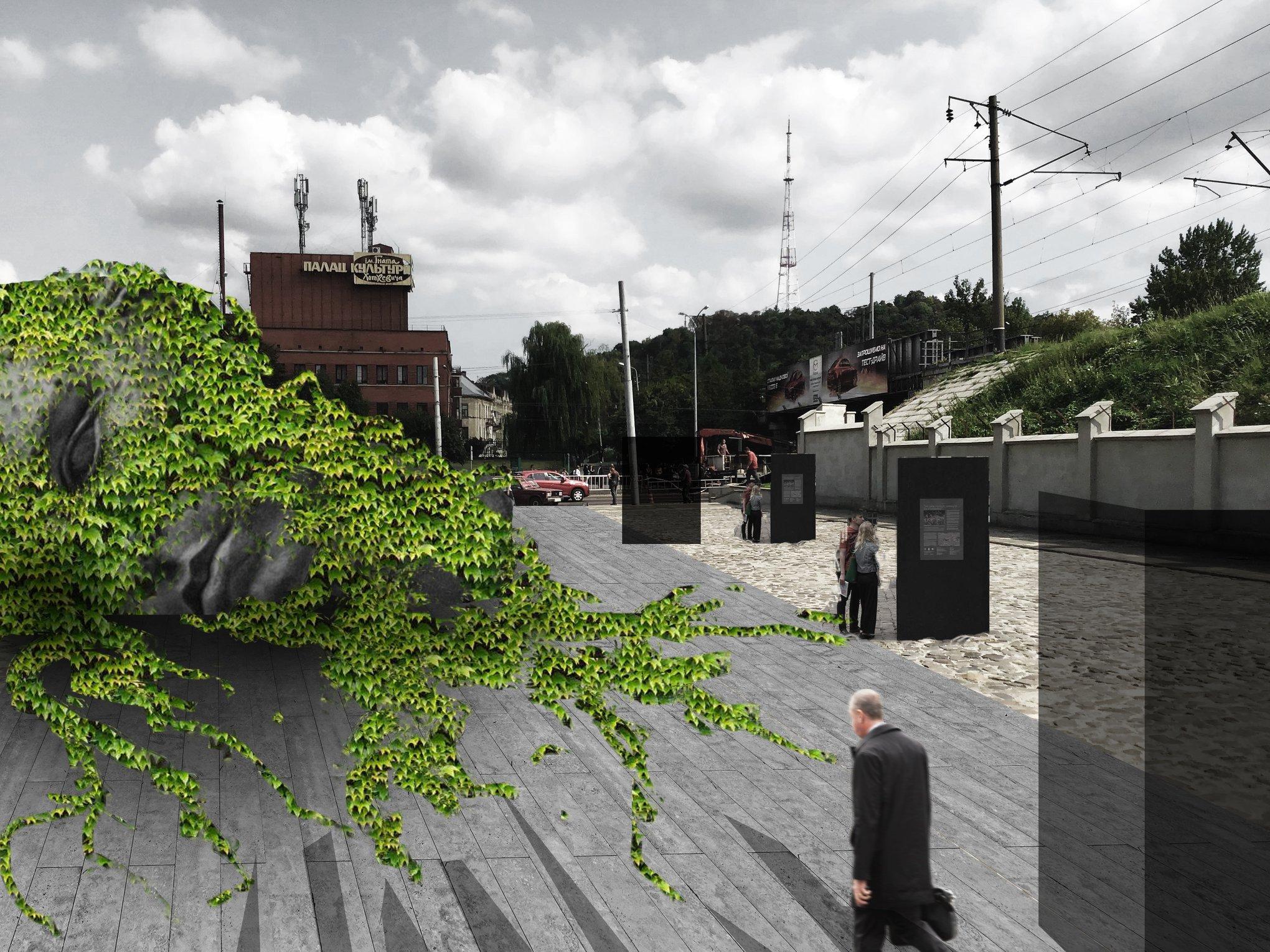 Львівські архітектори та урбаністи напрацювали попередні ідеї зміни вигляду ландшафту музею «Територія Терору»