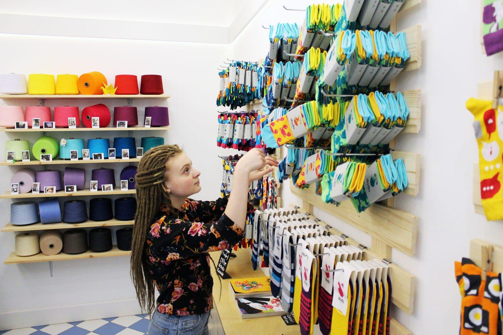 В Dodo Socks 80% штату — жінки