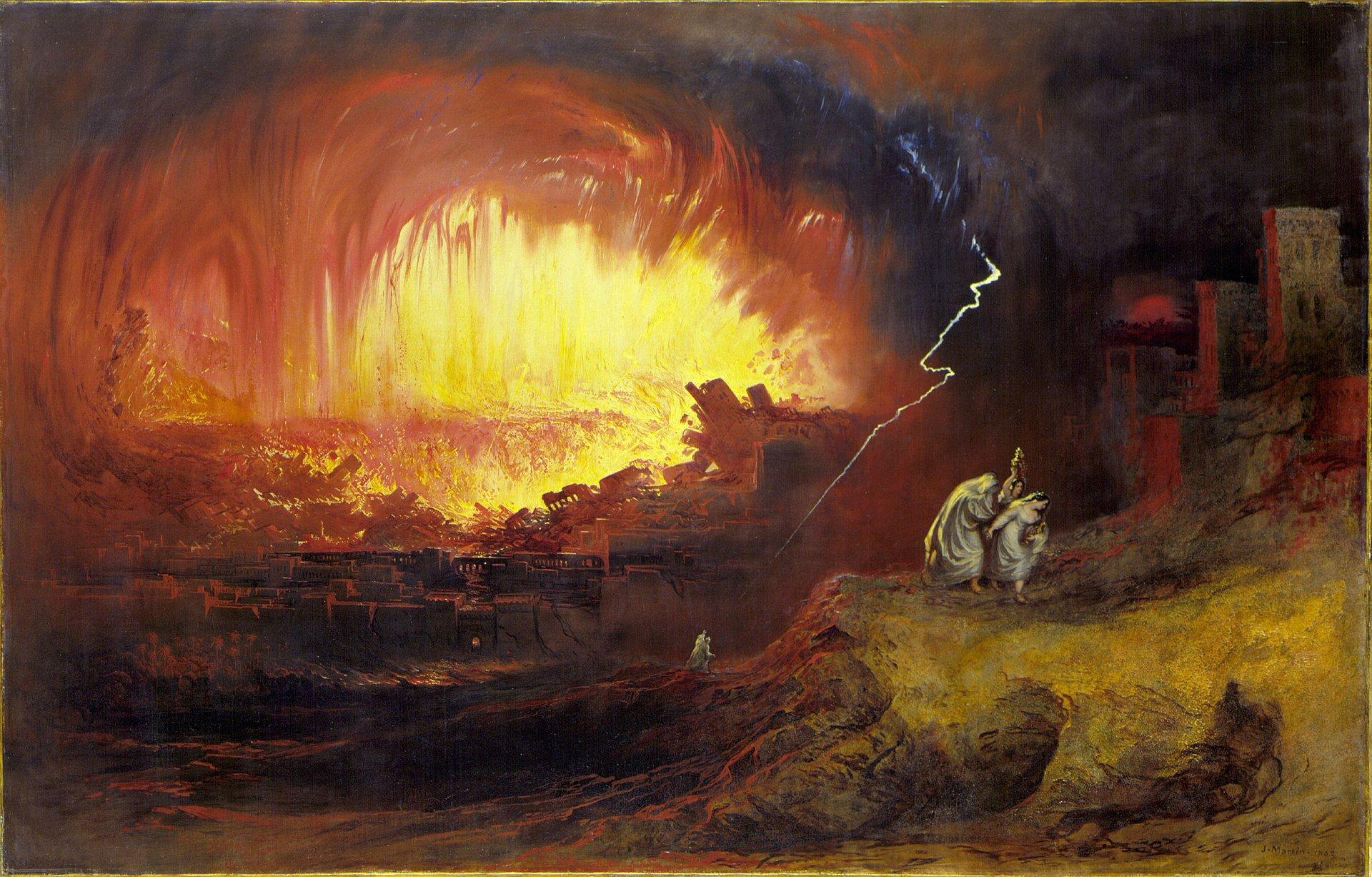 Картина «Знищення Содому і Гоморри»