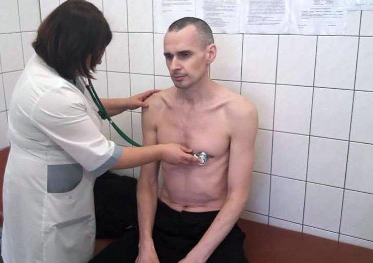 Олег Сенцов в Лабитнангской міській лікарні. 28 вересня 2018 року