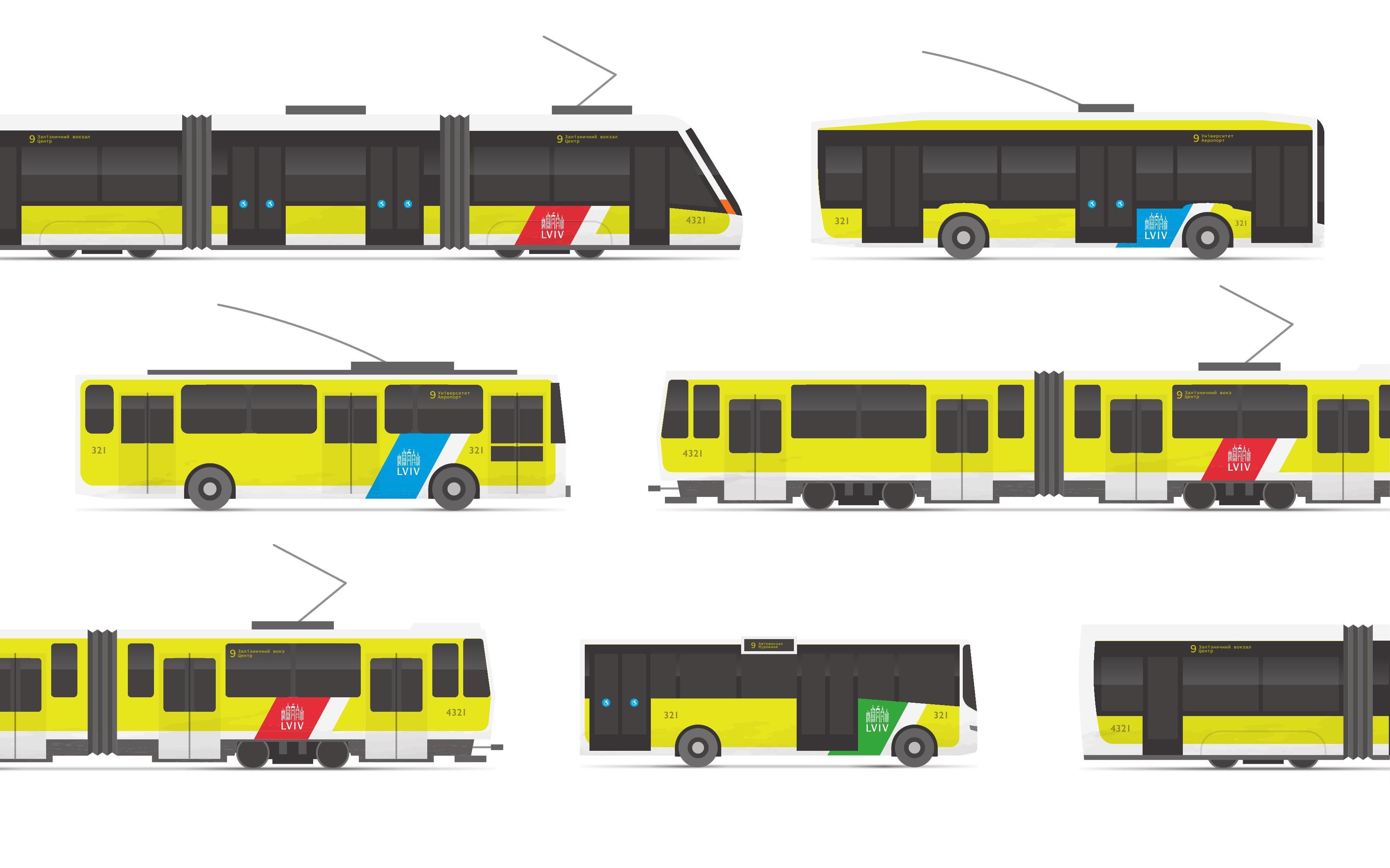 У Львові визначили концепцію брендування громадського транспорту