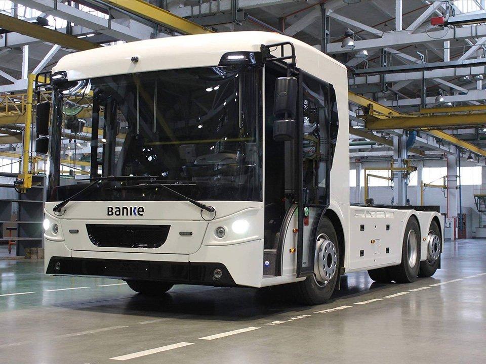 Модель ERCV27. Вантажівку зібрали для датської компанії Banke Electromotive
