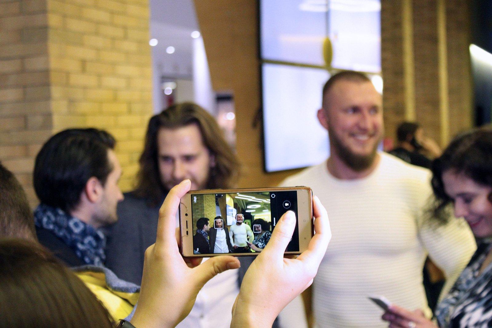 Актори стрічки на прем'єрі фільму у Львові