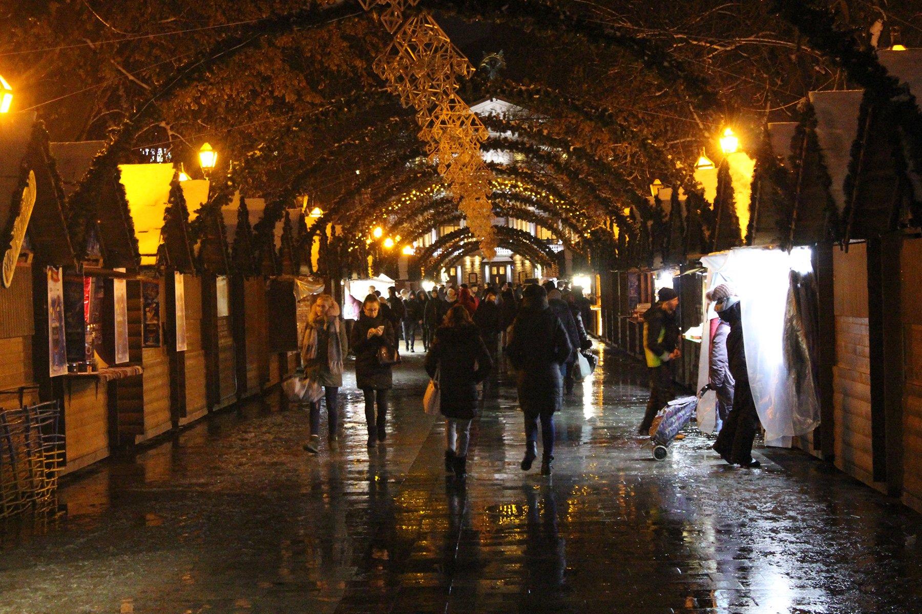 Фото дня. Як виглядає різдвяний ярмарок у Львові цього року