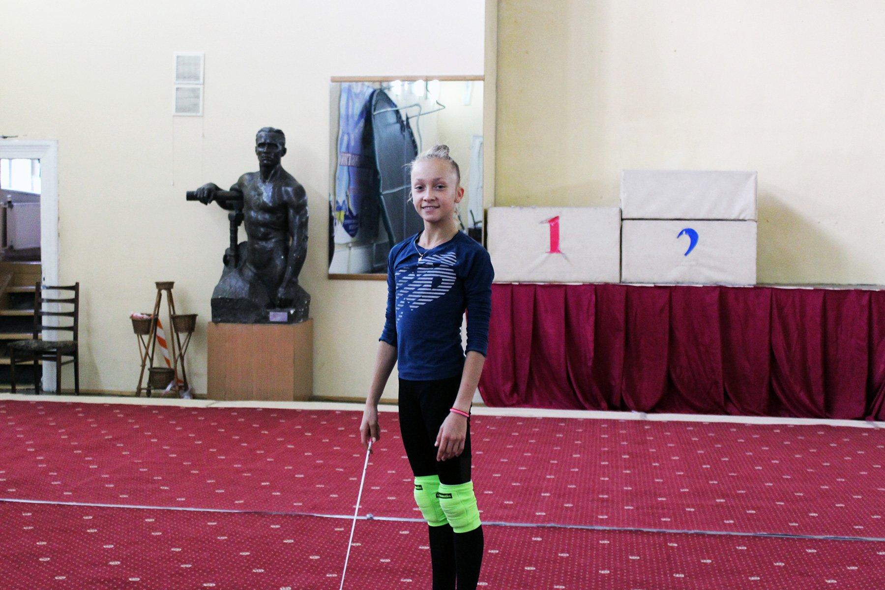 Христина Погранична — срібна чемпіонка з художньої гімнастики на ІІІ-х літніх Юнацьких Олімпійських іграх, абсолютна переможниця Всесвітньої Гімназіади у Марокко, двічі — чемпіонка України