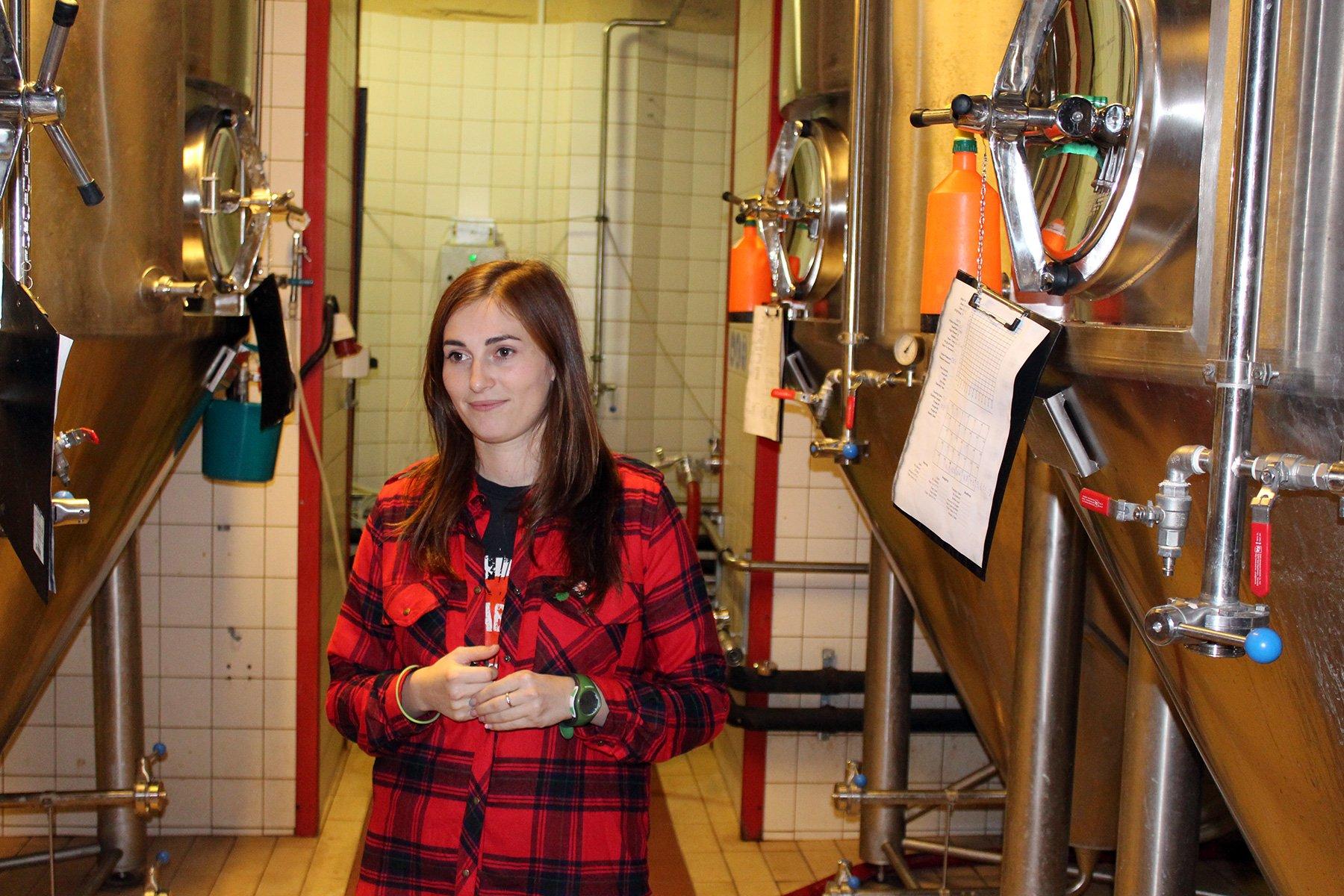 Юлія каже, що українське крафтове пивоваріння дуже молоде
