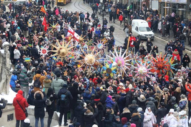 Фото дня. У Львові пройшла хода звіздарів