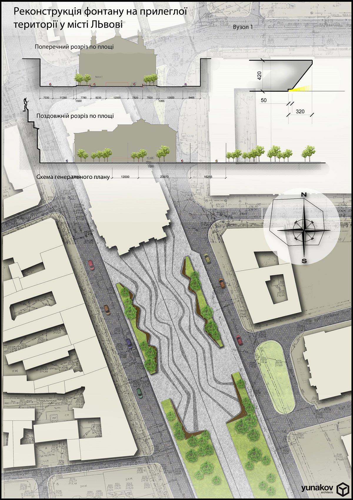 Проект реконструкції фонтану