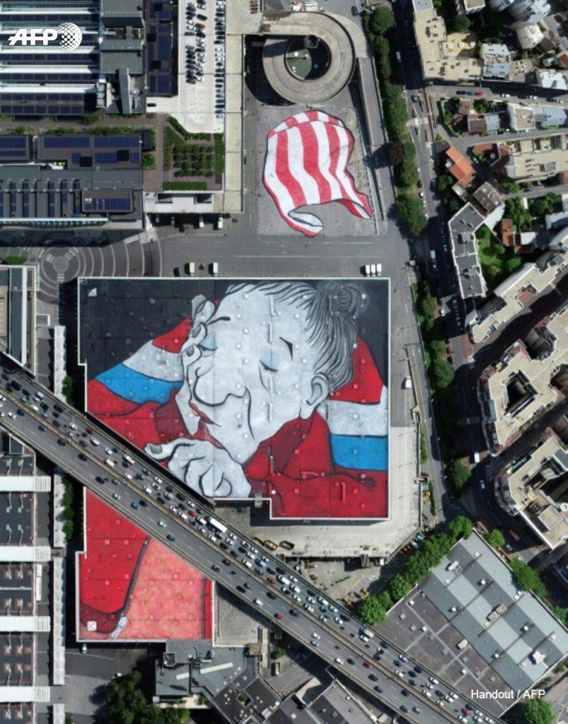 У Парижі створили найбільше графіті Європи