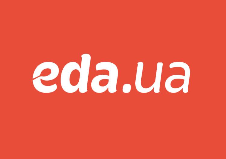 Логотип сервісу Eda.ua